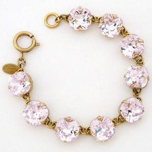 Catherine Popesco Crystal Bracelet, Petal, 12mm